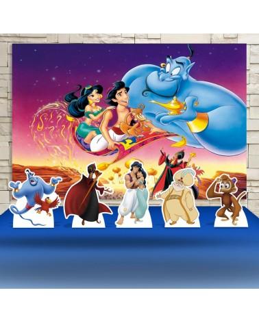 Kit Festa Aladin Desenho...