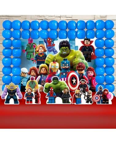 Kit Festa Vingadores Lego...
