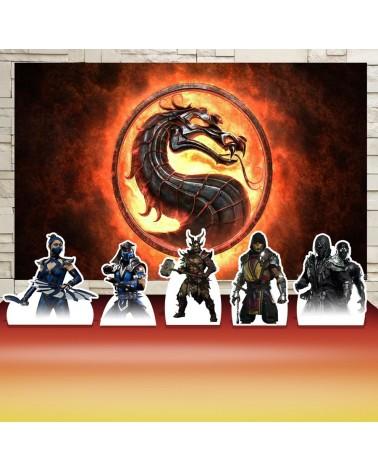 Kit Festa Mortal Kombat...