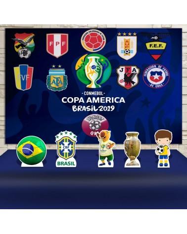 Kit Festa Copa América (Prata)