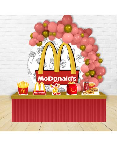 Kit Festa Redondo McDonald's