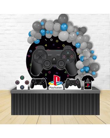 Kit Festa Redondo PlayStation