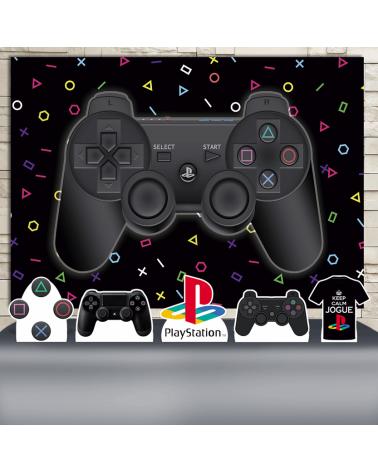 Kit Festa Playstation (Prata)