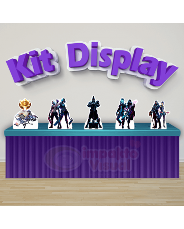 Kit Display Fortnite X