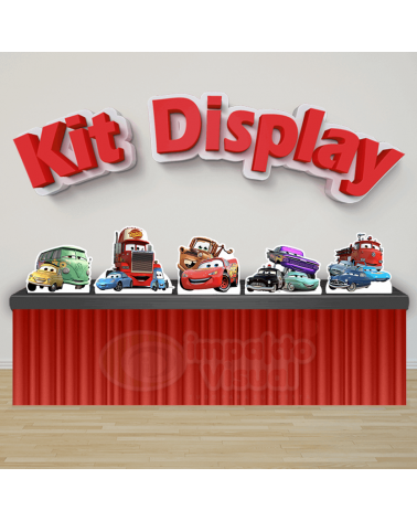Kit Display Carros 1
