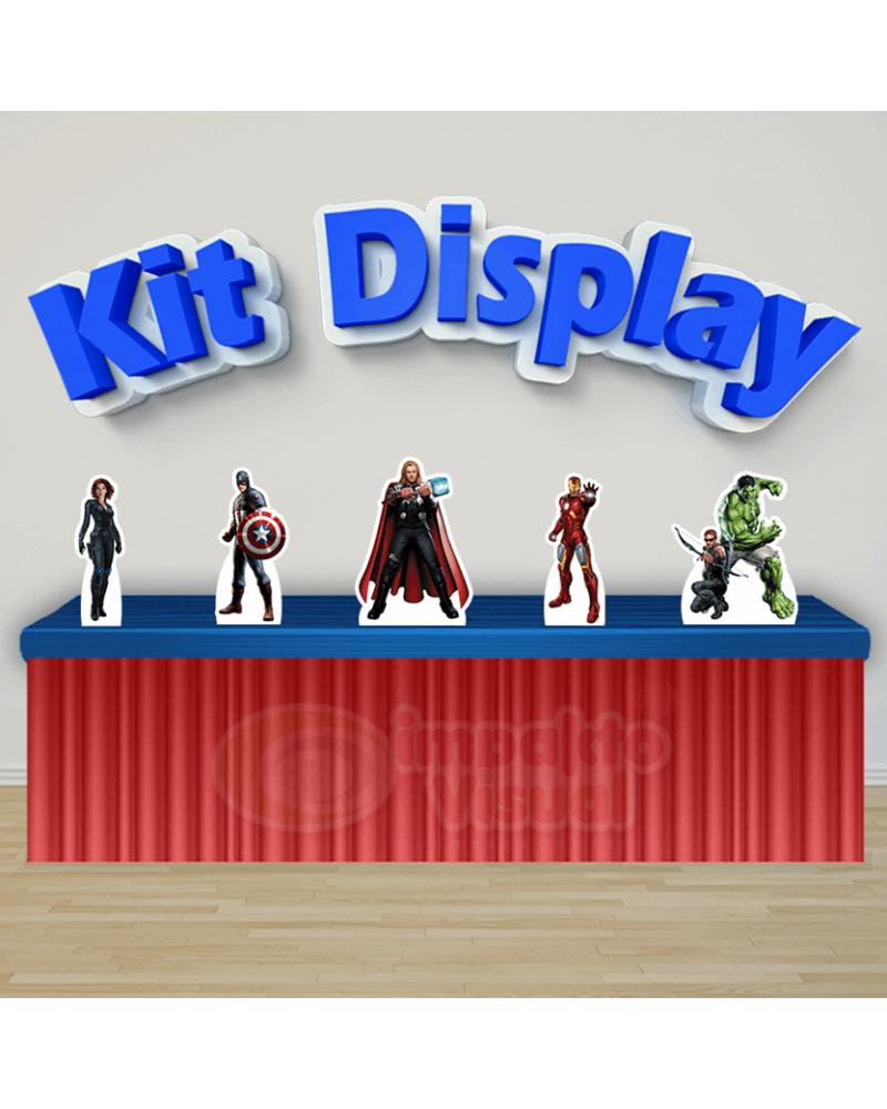 Kit Display Vingadores 1