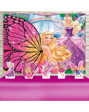 Kit Festa Barbie Butterfly...