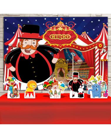 Kit Festa Circo do Bita...