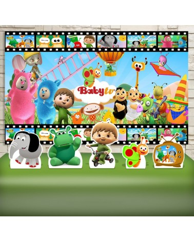 Kit Festa Baby TV (Prata)