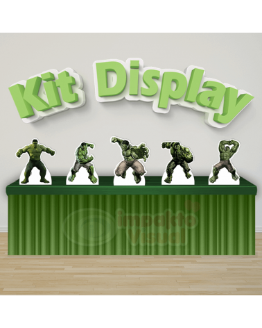 Kit Display Hulk