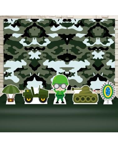 Kit Festa Exército (Prata)