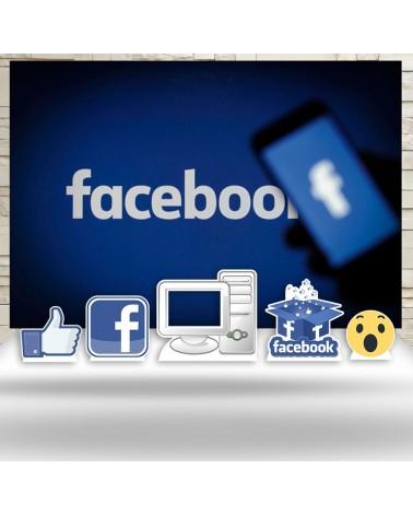 Kit Festa Facebook (Prata)