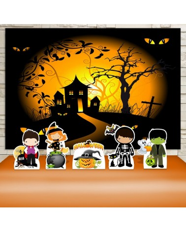 Kit Festa Hallowen Dia das...