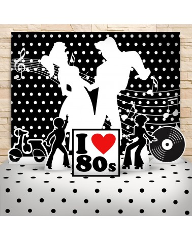 Kit Festa Anos 80 (Prata)